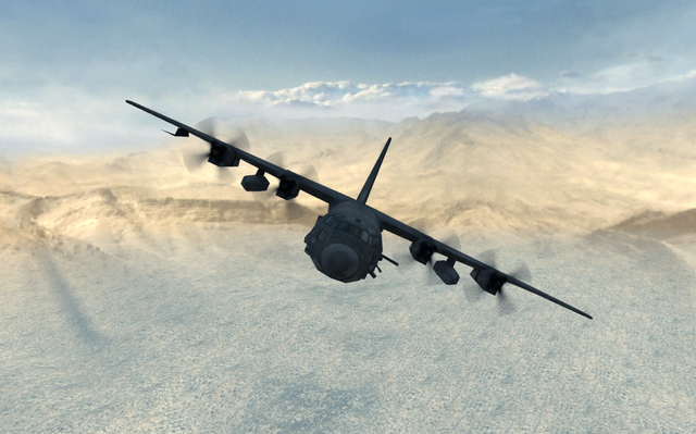 File:AC-130 front view Dome MW3.png