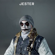 Jester Face Paint BO
