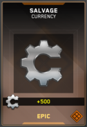 Salvage Epic Supply Drop Card IW