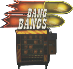 Bang Bangs Perk Machine IW