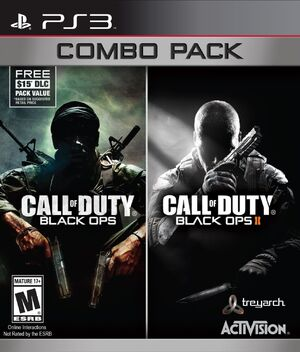Call of Duty Black Ops Combo Pack PS3 Box Art