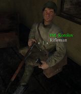 CoD UO - Pvt Korolov