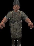 German Waffen-SS model WaW
