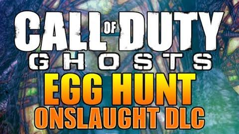 "COD Ghost ""EGG HUNT"" Extra XP (Onslaught DLC Easter Egg Hunt) ""Cod Ghost New DLC Onslaught"""