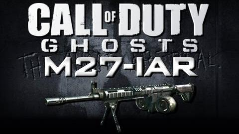 NEW COD Ghosts Gameplay - M27 IAR LMG (Call of Duty Ghosts Online Gameplay)
