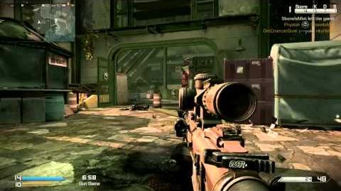 Gun Game 1 Back in action (no commentary) CoD Ghost
