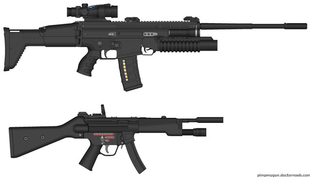 File:PMG Custom Scar-10 and MP7.jpg