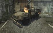 Destroyed Ural-4320 Fallen MW3