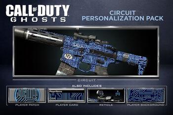 Circuit Personalization Pack CoDG