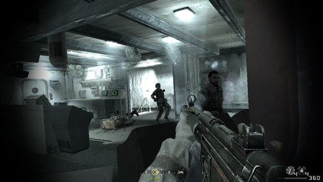 File:Taking down enemy ship crew members Crew Expendable CoD4.PNG