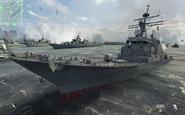 Arleigh Burke Class Destroyer MW3