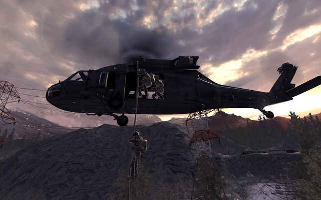 File:UH-60 deploying Marines All In COD4.png
