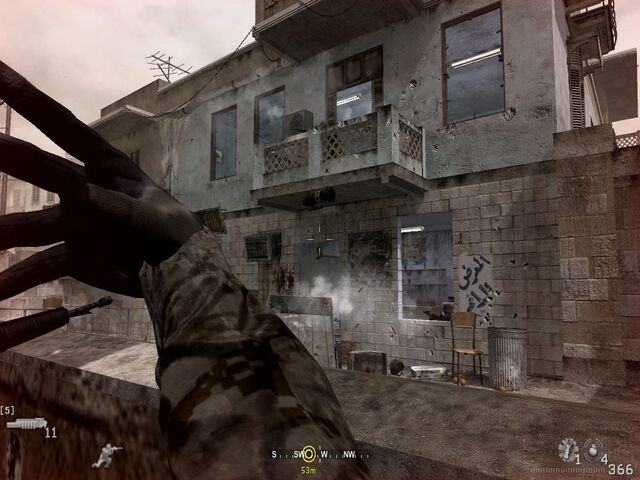 File:Throwing flashbang into opposite building War Pig CoD4.jpg