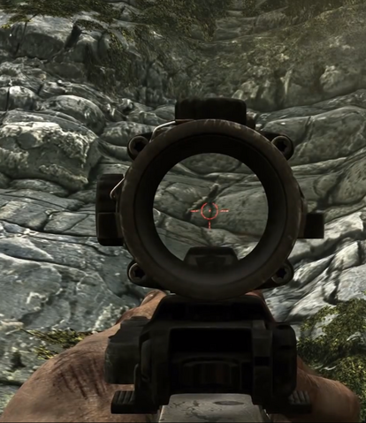 File:Aiming down the ACOG Scope CODG.png