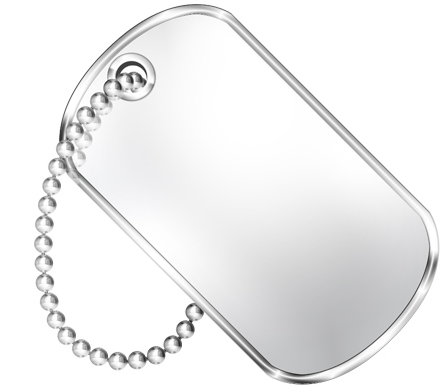 File:Blank Dog tag.png