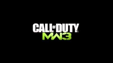 Call of Duty Modern Warfare 3 GIGN Spawn Theme