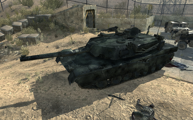File:Destroyed Abrams Dome MW3.png