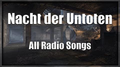 Call of Duty World at War - Nacht der Untoten - All Radio Songs-3