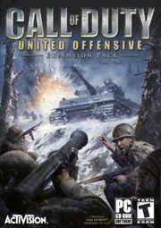 Call of Duty United Offensive box art