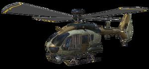 Eurocopter EC-635 model CoDG