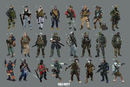 Mercenaries concept CoDO