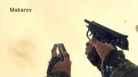 Makarov PM - Black Ops 2 singleplayer pistol