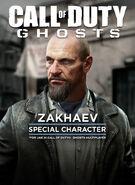 Zakhaev Special Character CoDG