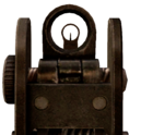 M4A1 Iron Sights MW2