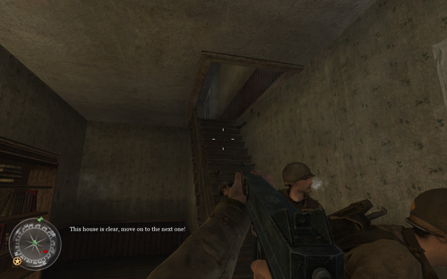 File:Staircase in first house Approaching Hill 400 CoD2.png
