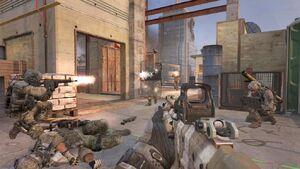 Riot Shield Firefight Overwatch MW3