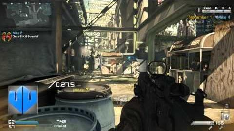 Call of Duty Ghosts Gameplay VECTOR (Ckacked en Strikezone) - XBOX ONE - COD GHOSTS