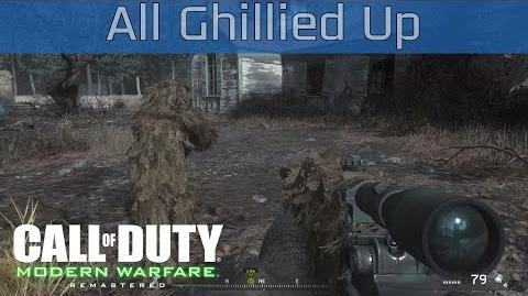 Call of Duty 4 Modern Warfare Remastered - All Ghillied Up Walkthrough HD 1080P 60FPS
