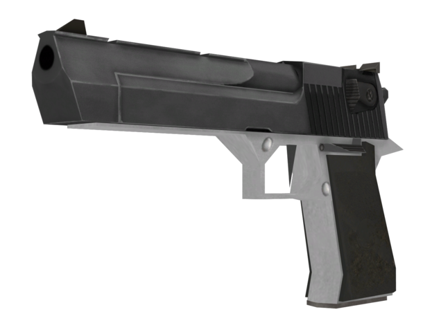 File:Desert Eagle Two-Tone model CoD4.png