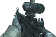 MP5 ACOG Scope CoD4