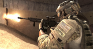 M4A1 Third Person MW3
