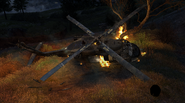 Crashed Helicopter Overwatch MW2