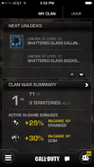 Call of Duty (app) Clan Details