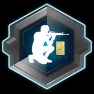 Crouch Emblem IW