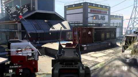 """CoD AW KC Gameplay On New Map """"Atlas Gorge"""" (ARX-160)"""