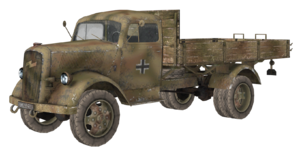 Opel Blitz model WaW