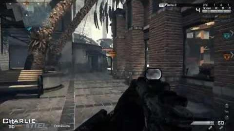 Call of Duty Ghosts Multiplayer Gameplay CHASM (Domination)