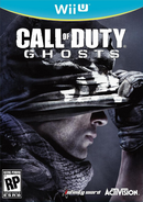 Call of Duty Ghosts Wii U cover art