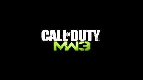 Call of Duty Modern Warfare 3 African Militia Spawn Theme