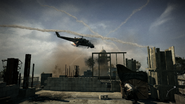 Nikolai's chopper out of control Return to Sender MW3