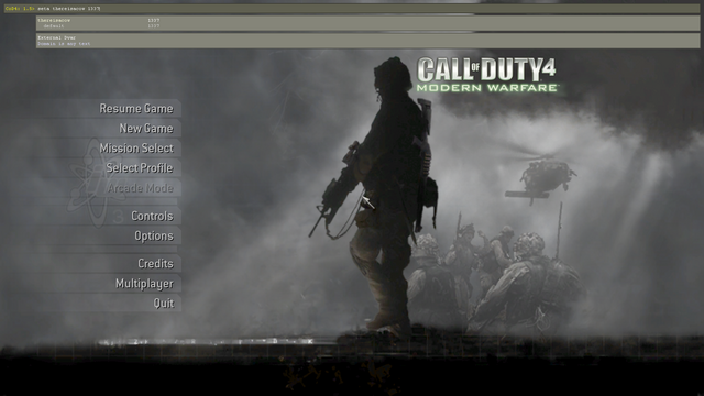File:Developer console open CoD4.png