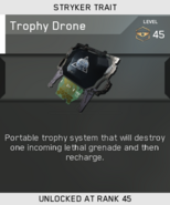 Trophy Drone Unlock Card IW