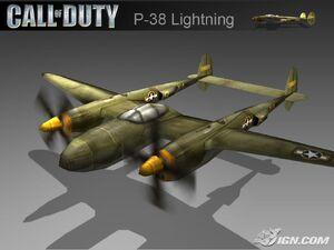 CoD2 BRO - P-38 Lightning