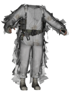 TF141 Arctic Ghillie Suit MW2