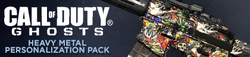 Heavy Metal Personalization Pack Header CoDG
