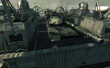 Abrams tanks on LCAC